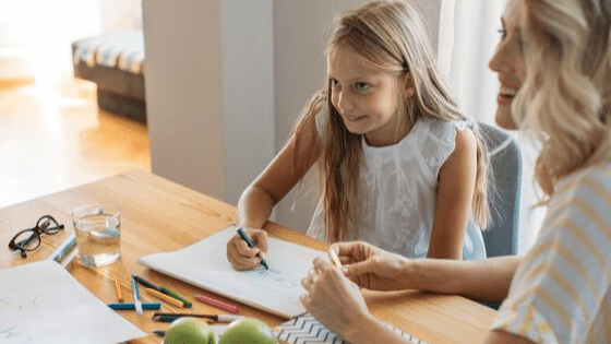 homeschooling a girl