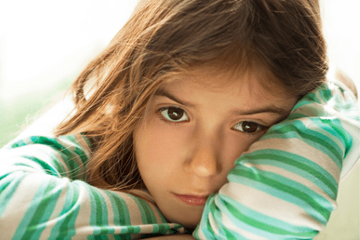 child with sensory processing challenges
