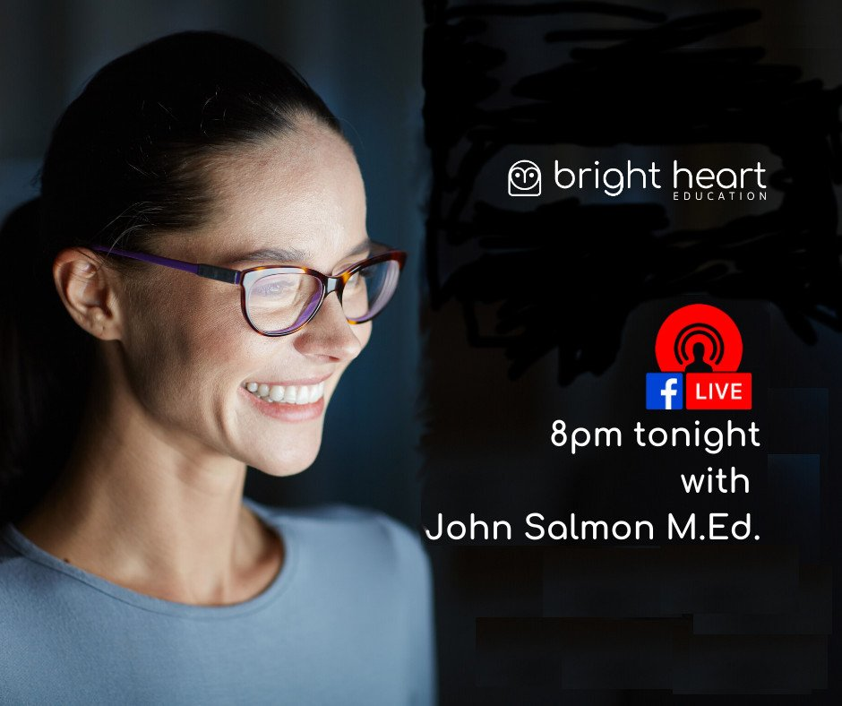 FB Live with John Salmon, Bright Heart director