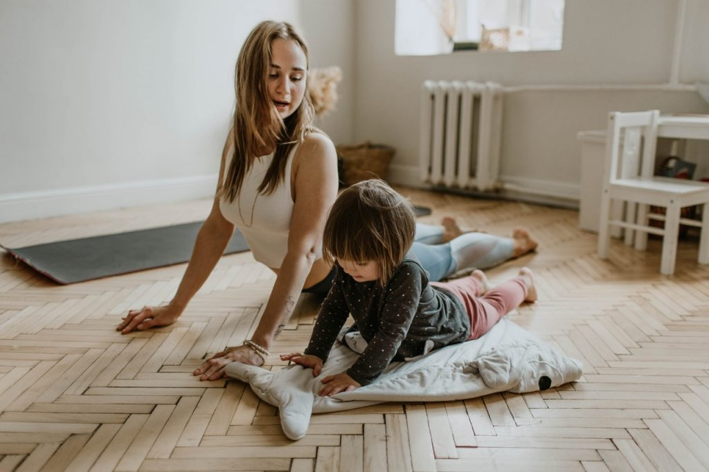 yoga with your children